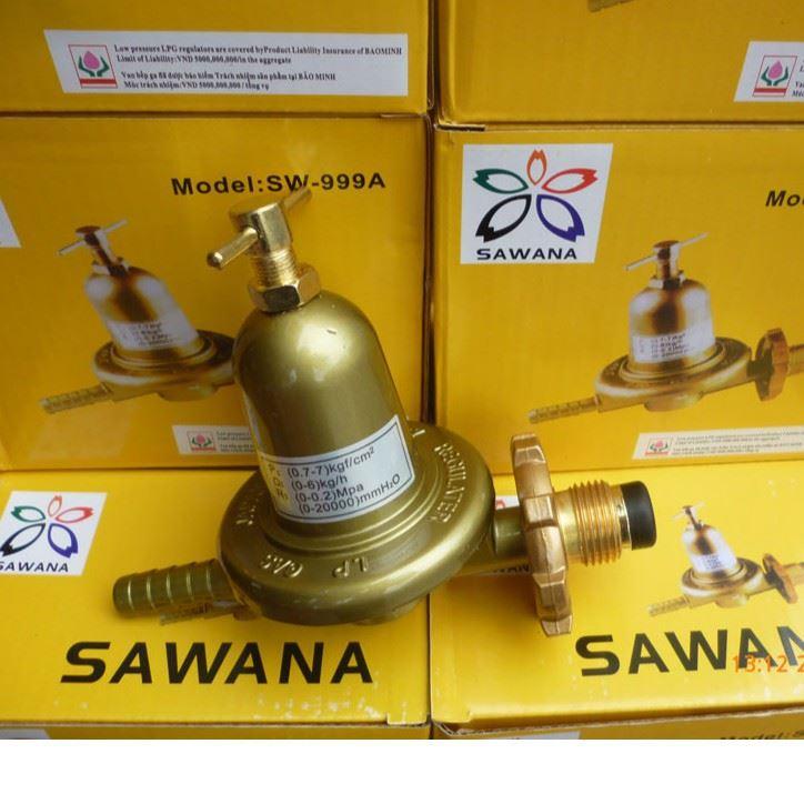VAN GAS CAO ÁP BẾP GA CÔNG NGHIỆP SAWANA SW-999A